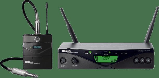 AKG WMS470 INSTRUMENT SET BD7 - Professional Wireless Microphone System