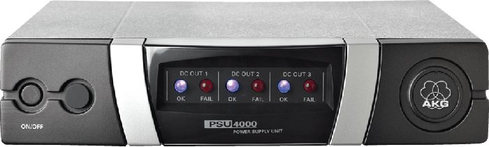 AKG PSU4000 Central Power Supply Unit for PS4000,SPC4500,HUB4000 Q,WMS Receivers and Charging Units