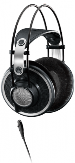 AKG K702 Reference Studio Headphones (old SKU: 2458Z00190)