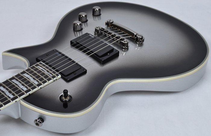 esp ltd deluxe ec 1000 electric guitar in silver sunburst b stock lt. Black Bedroom Furniture Sets. Home Design Ideas