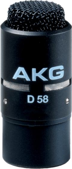 AKG D58 E Professional Dynamic Noise-Canceling Microphone