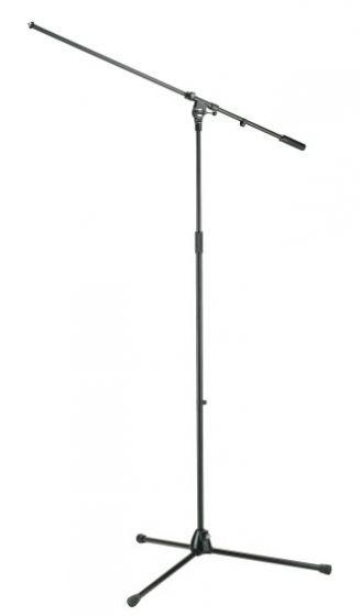 AKG KM210/21 BLACK - Extra Tall Boom Mic Stand