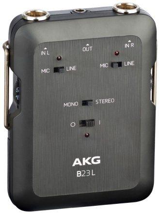 AKG B23 L Battery Operated Phantom Power Supply & Mini Recording Mixer