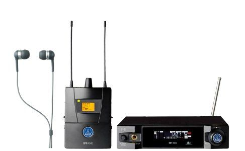 AKG IVM4500 IEM SET BD9 50mW - Reference Wireless In-Ear-Monitoring System