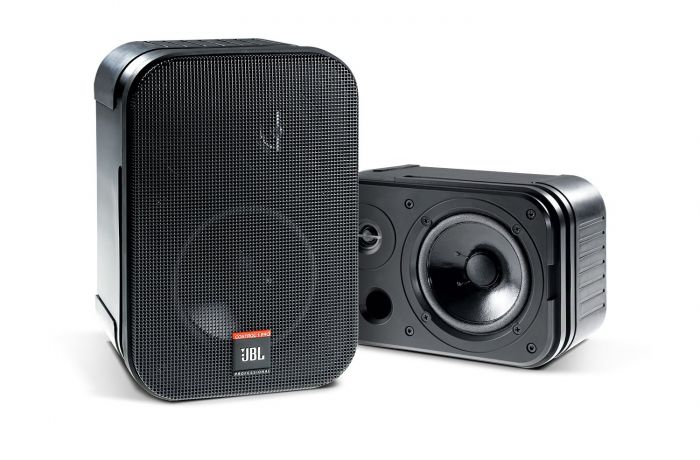 JBL C1PRO Control 1 Pro Speakers Black - Pair