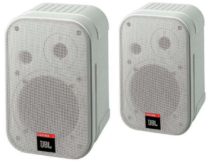 JBL C1PRO-WH Control 1 Pro Speakers White - Pair