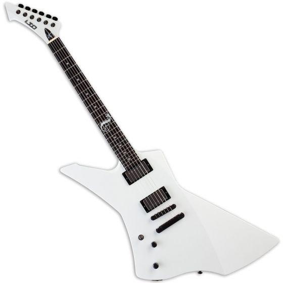 ESP LTD James Hetfield Snakebyte Lefty Electric Guitar in Snow White