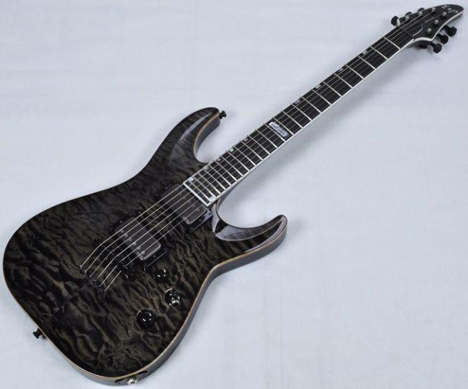 ESP USA Horizon Electric Guitar in See Thru Black EMG