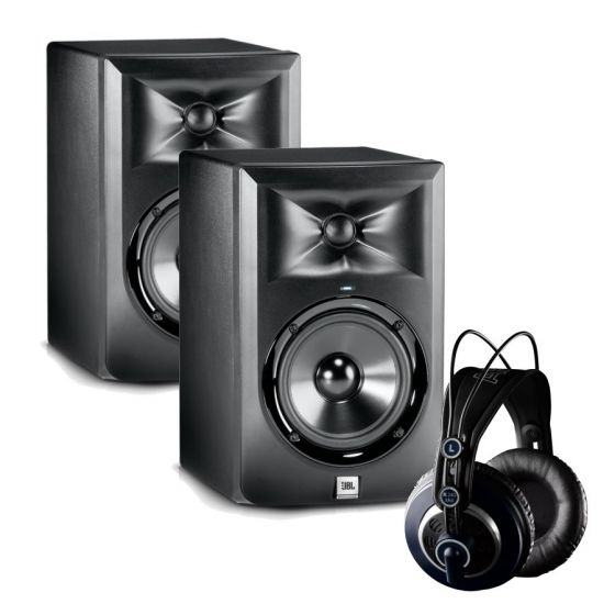 JBL LSR305 - AKG K240 MKII Professional Studio Bundle
