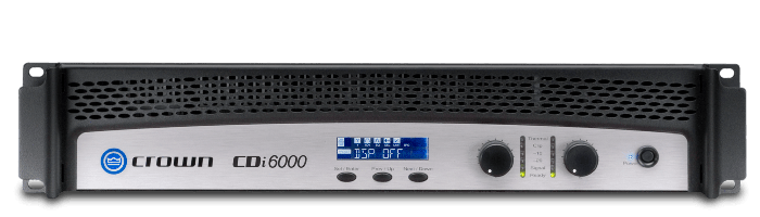 Crown Audio CDi 6000 Two Channel 2100W Power Amplifier