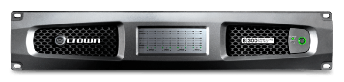 Crown Audio DCi 8|300 Eight-channel 300W @ 4Ω Analog Power Amplifier 70V/100V