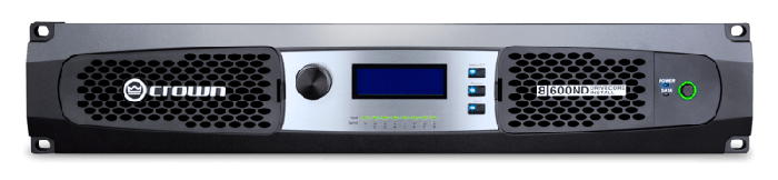 Crown Audio DCi 8|600ND Eight-channel 600W @ 4Ω Power Amplifier with AVB 70V/100V