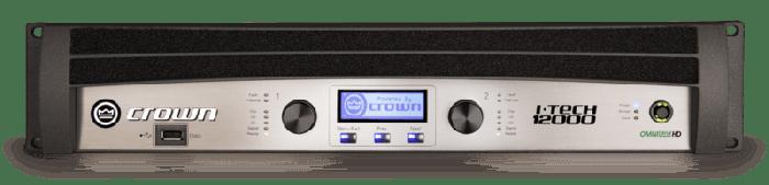 Crown Audio I-Tech 12000HD Two-channel 4500W Power Amplifier