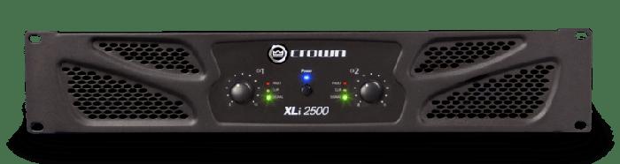Crown Audio XLi 2500 Two-channel 750W Power Amplifier