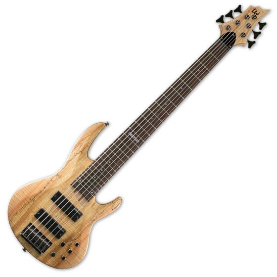 ESP LTD B-206SM Bass in Natural Stain