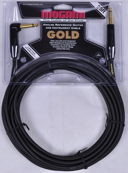 Mogami Gold Instrument R Cable 25 ft.