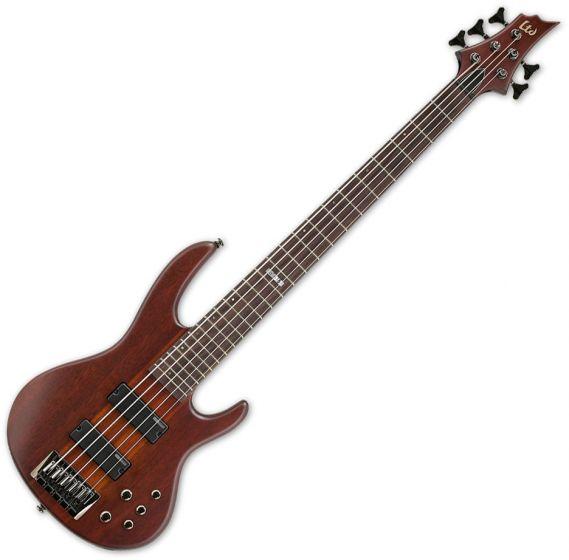 ESP LTD D-5 Bass in Natural Stain