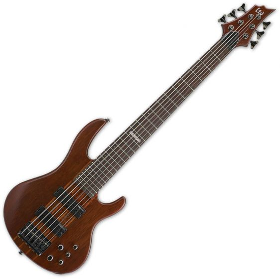 ESP LTD D-6 Bass in Natural Stain