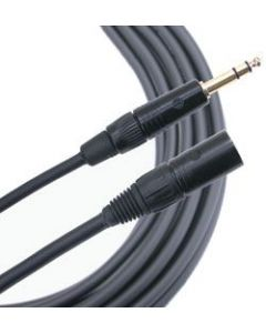 Mogami Gold TRS-XLRM Cable 3 ft. GOLD-TRSXLRM-03