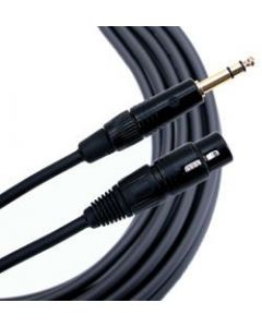 Mogami Gold TRS-XLRF Cable 3 ft. GOLD-TRSXLRF-03