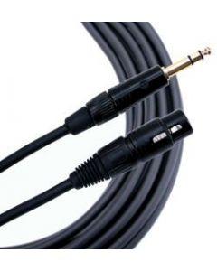 Mogami Gold TRS-XLRF Cable 3 ft. GOLD-TRSXLRF-03