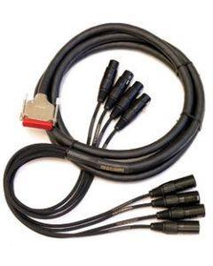 Mogami Gold AES DB25-XLR Cable 20 ft. GOLD-AES-DB25-XLR-20