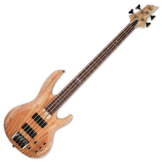 ESP LTD B-204SM Bass Guitar in Natural Stain Finish