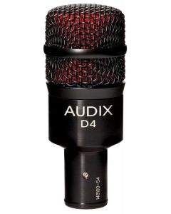 Audix D4 Dynamic Instrument Microphone 54927
