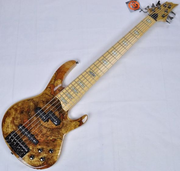 ESP LTD RB-1006SM NAT 6-String Electric Bass Guitar in Natural Finish