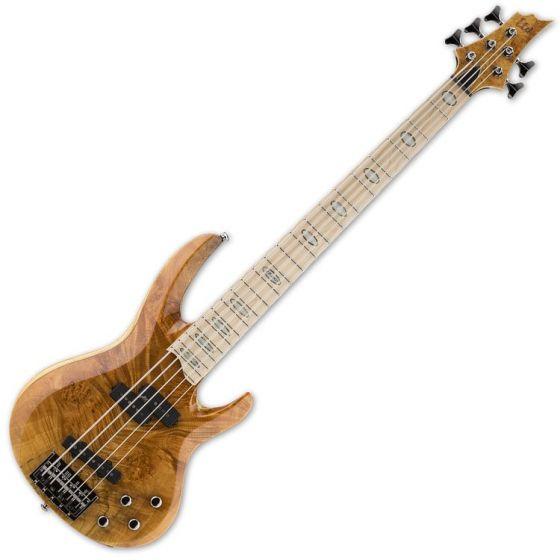 ESP LTD RB-1005BM HN 5-String Electric Bass Guitar in Honey Natural