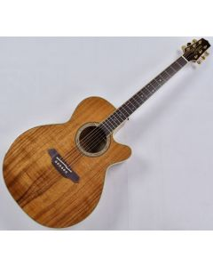Takamine EF508KC Legacy Series KOA Top Acoustic Guitar in Natural Gloss Finish B-Stock TAKEF508KC.B