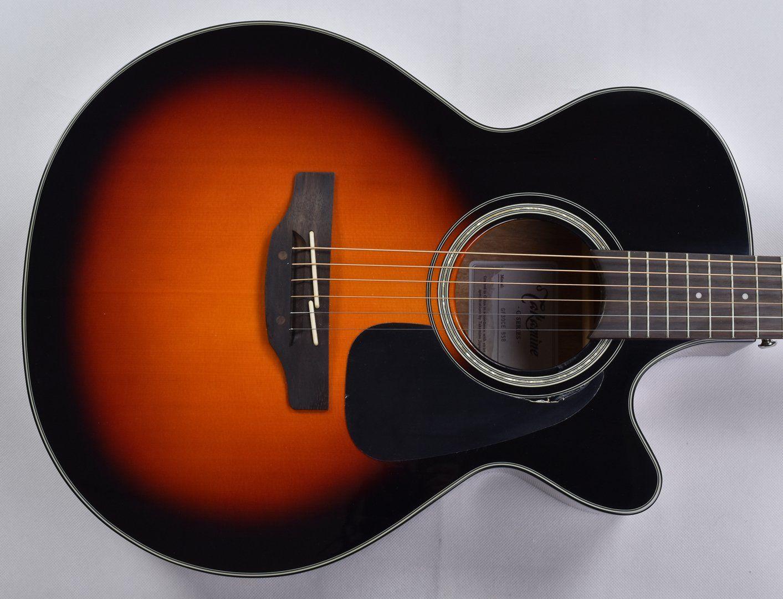 Takamine Gf30ce Bsb G Series G30 Cutaway Acoustic Electric Guitar In Brown Sunburst Finish