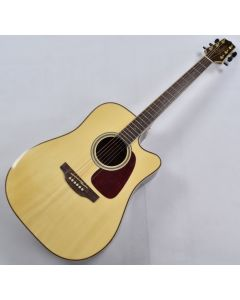 Takamine GD93CE-NAT G-Series G90 Cutaway Acoustic Electric Guitar in Natural Finish B-Stock TC13103890 TAKGD93CENAT.B 3890