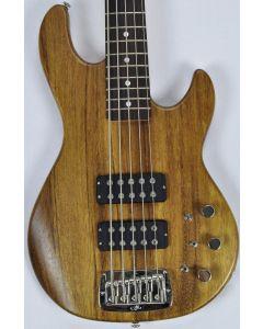 G&L L-2500 usa monkey pod bass in natural satin finish