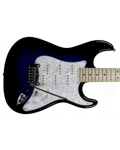 G&L usa custom comanche electric guitar in blueburst