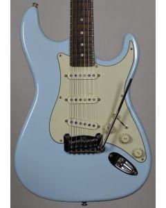 G&L legacy usa custom made guitar in sonic blue
