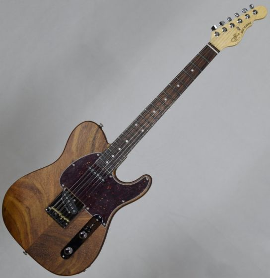 G&L usa custom asat classic monkey pod electric guitar in natural