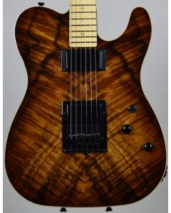 Schecter PT Koa Top Vintage Burst USA Custom Shop Electric Guitar