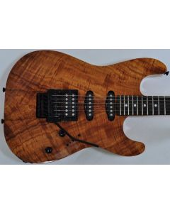 Schecter CET Koa Natural Gloss USA Custom Shop Electric Guitar