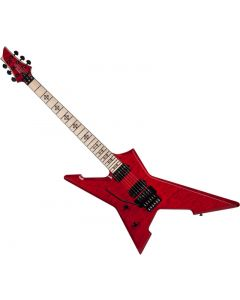 Schecter Signature Jeff Loomis Cygnus JLX-1 FR Left-Handed Electric Guitar See-Thru Cherry  SCHECTER425