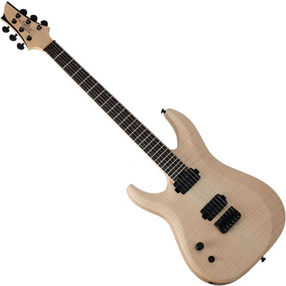Schecter Signature Keith Merrow KM-6 MK-II Left-Handed Electric Guitar Natural Pearl