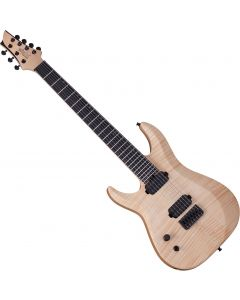 Schecter Signature Keith Merrow KM-7 MK-II Left-Handed Electric Guitar Natural Pearl  SCHECTER253