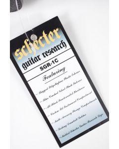 Schecter C-Shaped Hardcase [SGR-1C]