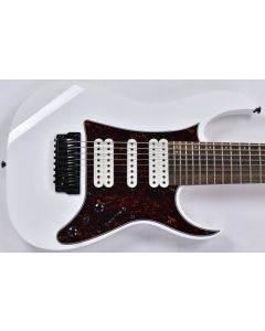 Ibanez TAM10-WH Tosin Abasi 8 String Electric Guitar in White Finish B-Stock