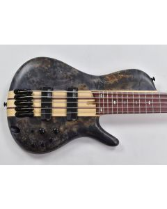 Ibanez SR Bass Workshop SRSC805 5 String Electric Bass Deep Twilight Flat
