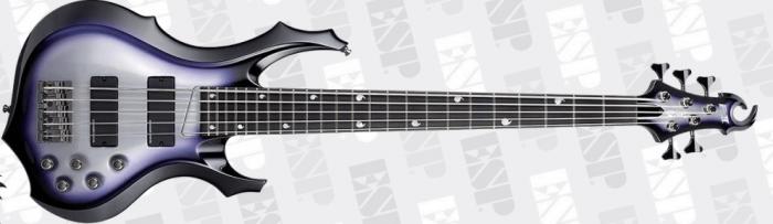 ESP E-II Doris Yeh DY5 SSB Signature Bass Guitar