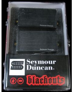 Seymour Duncan AHB-1S Original Blackouts Neck/Bridge Pickup Set Black Chrome Cover 11106-32-BChr