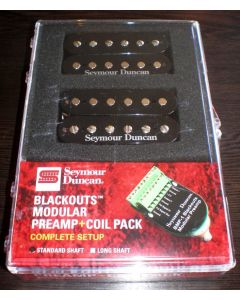 Seymour Duncan AHB-10S Blackouts Modular Preamp Full Set(Black) 11106-62-B
