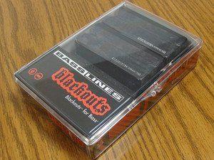Seymour Duncan ASB-BO-4S Blackouts For Bass 4-String Pickup Set