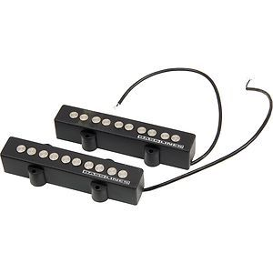 Seymour Duncan SJ5-3S Quarter Pound 5-String Pickup Set For Jazz Bass